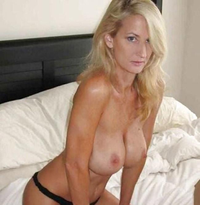 Femme blonde plan cul mature
